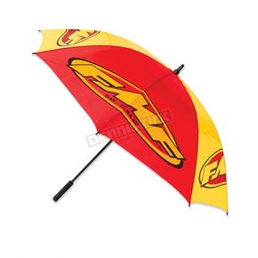 Red/Yellow 60 in. Vented Track Umbrella - F14183103