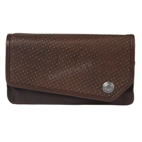 Roland Sands Design Womens Tobacco Maven Leather Wallet - 0805-1502-0150