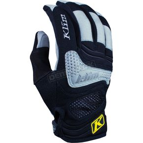 Klim Womens Black/Gray Savanna Gloves - 4097-000-150-000