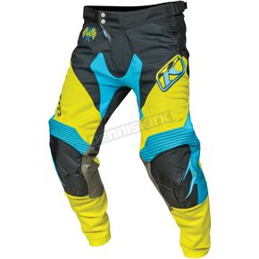 Klim Hi Vis Green/Black/Blue XC Pants - 5004-000-036-300