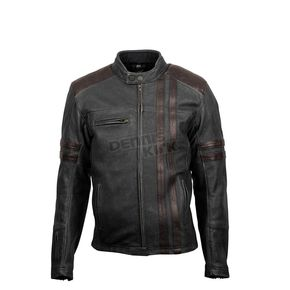 Black 1909 Leather Jacket