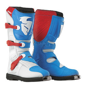Thor Red/Blue Blitz CE Boots - 3410-1471