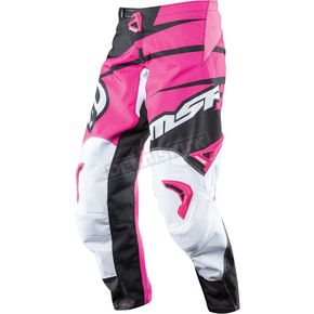 MSR Racing Womens Black/Pink Starlet Pants - 352411