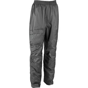 Firstgear Black Splash Rain Pants - 51-5180