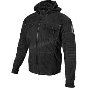 Speed and Strength Black Dogs of War Textile Jacket - 87-8054