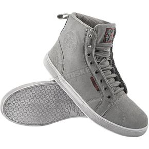 Speed and Strength Gray Black Nine Moto Shoes - 87-7863