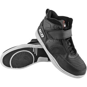 Speed and Strength Black Run With The Bulls Moto Shoes - 87-7103