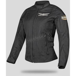 Honda Womens Black Goldwing Touring Jacket - 54-9485