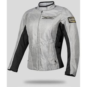 Honda Womens Gray Mesh Goldwing Touring Jacket - 54-9518