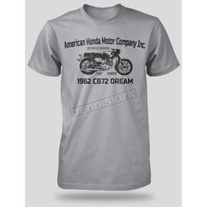 Honda Silver CB72 Dream T-Shirt - 54-9524