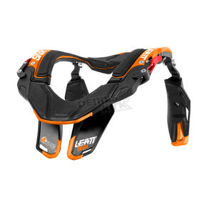 Leatt Black/Orange SNX Trophy Neck Brace - 1014040012