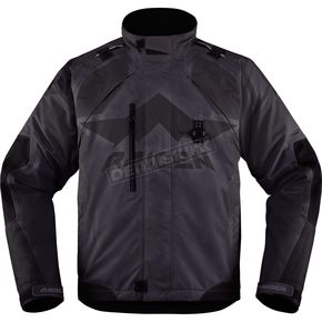 Icon - Raiden Black DKR Jacket - 2820-3288