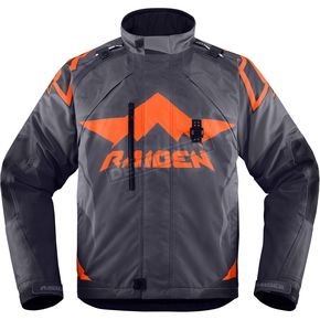 Icon - Raiden Slate DKR Jacket - 2820-3311