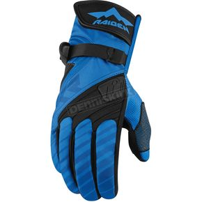 Icon - Raiden Blue/Black DKR Gloves - 3301-2478