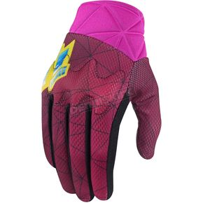 Icon Womens Pink Anthem Blender Gloves - 3302-0442