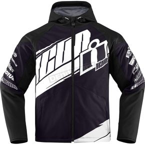 Icon Black/White Team Merc Jacket - 2820-3318