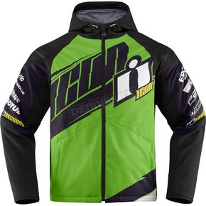 Icon Green/Black Team Merc Jacket - 2820-3331