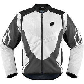 Icon White/Gray Anthem 2 Jacket - 2820-3373