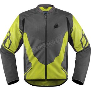 Icon Hi Viz/Gray Anthem 2 Jacket - 2820-3387