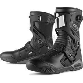 Icon Black Raiden DKR Boots - 3403-0675