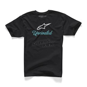 Alpinestars Black Unrivaled T-Shirt - 10157201010L