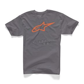 Alpinestars Charcoal Ageless T-Shirt - 1032720301840M