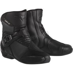 Alpinestars Black SMX-3 Vented Boots - 2224014-100-38