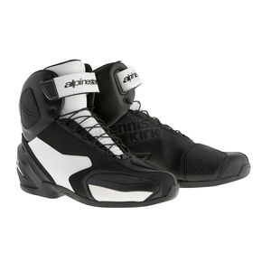 Alpinestars Black/White SP-1 Shoes - 2511015-12-45
