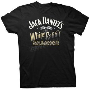 Jack Daniels Black White Rabbit T-Shirt - 15261457JD-89-M