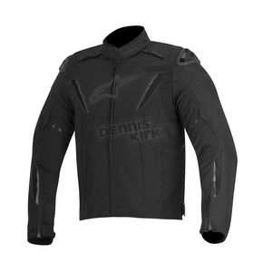 Alpinestars Black T-GP R Waterproof Jacket - 3205515-10-L