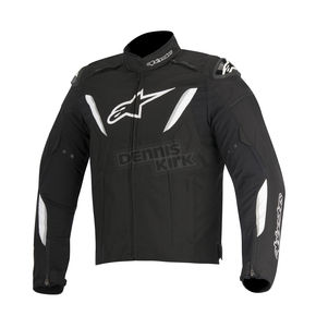 Alpinestars Black/White T-GP R Waterproof Jacket - 3205515-12-S
