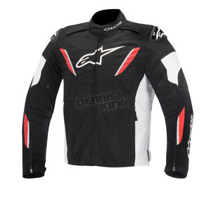 Alpinestars Black/White/Red T-GP R Waterproof Jacket - 3205515-123-L