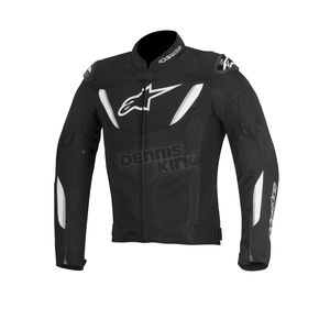 Alpinestars Black/White T-GP R Air Jacket - 3305616-12-L