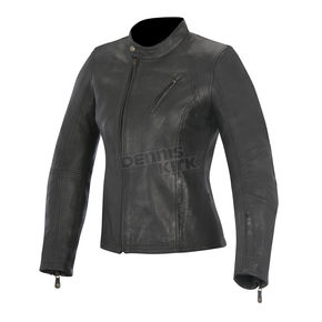 Alpinestars Womens Black Shelley Leather Jacket - 3118315-10-XL