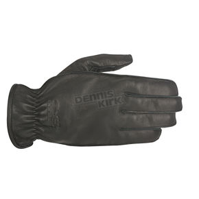 Alpinestars Black Bandit Leather Gloves - 3508915-10-L