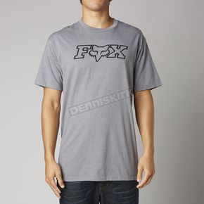 Fox Heather Graphite Ageless FHeadX Premium T-Shirt - 14223-185-XL