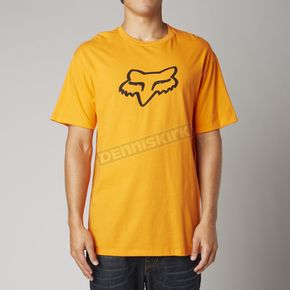 Fox Orange Fox Head Premium T-Shirt - 14222-009-L