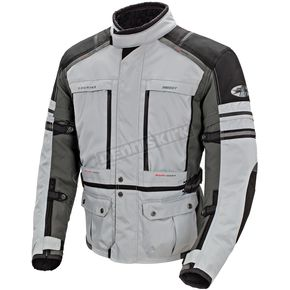 Joe Rocket Silver/Gunmetal Ballistic Adventure Jacket - 1514-2602