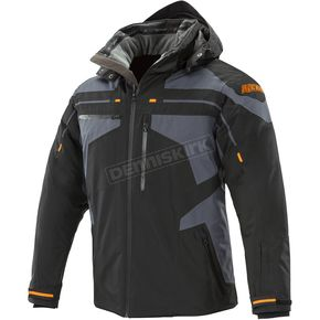 Joe Rocket Black/Grey Cold Weather Rocket Crew Jacket - 1530-5505
