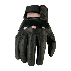 Z1R Black 243 Leather Gloves - 3301-2612