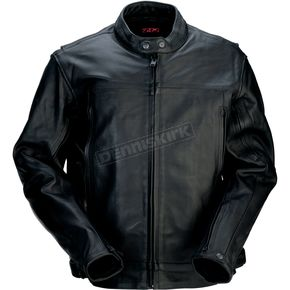 Z1R Black 357 Leather Jacket - 2810-2772