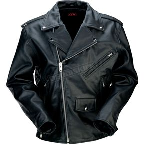 Z1R Black 9mm Leather Jacket - 2810-2792