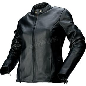 Z1R Womens Black 357 Leather Jacket - 2813-0611