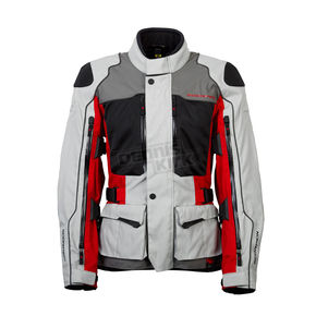 Scorpion Gray/Red/Black Yosemite XDR Jacket - 12901-5