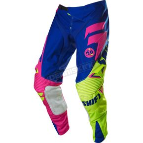 Shift Blue/Yellow Faction Reed A1 Limited Edition Pants - 15312-026-36