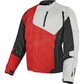 Speed and Strength Red/Black/White Lock & Load Textile Jacket - 87-8830