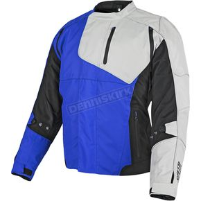Speed and Strength Blue/Black/White Lock & Load Textile Jacket - 87-8838