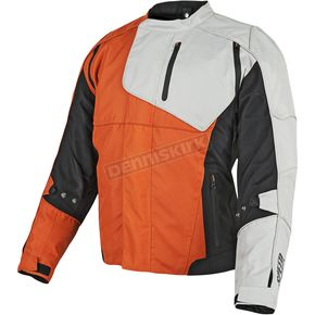 Speed and Strength Orange/Black/White Lock & Load Textile Jacket - 87-8842