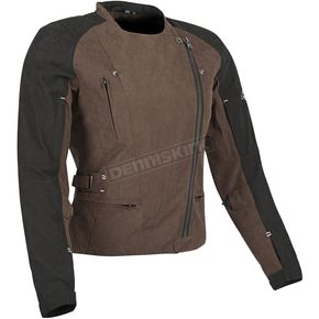 Speed and Strength Womens Brown/Black Tough Love Textile Jacket - 87-8882