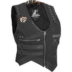 Speed and Strength Womens Black Iron Mistress Vest - 87-8890
